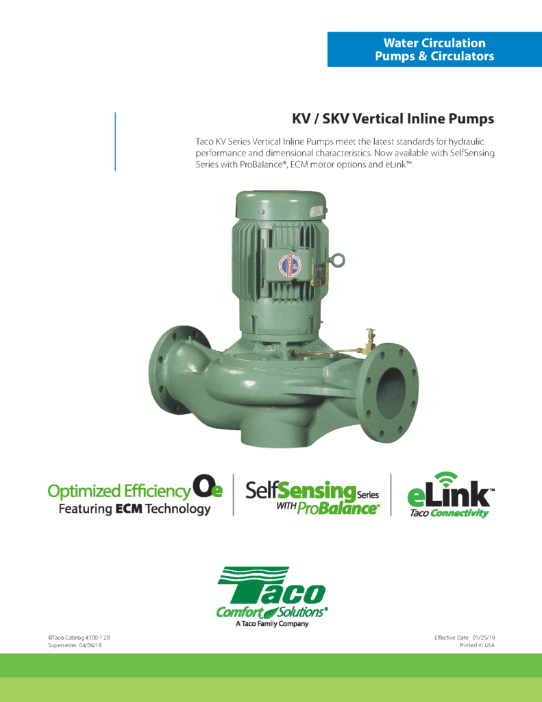 SelfSensing Pumps with ProBalance SKV Series