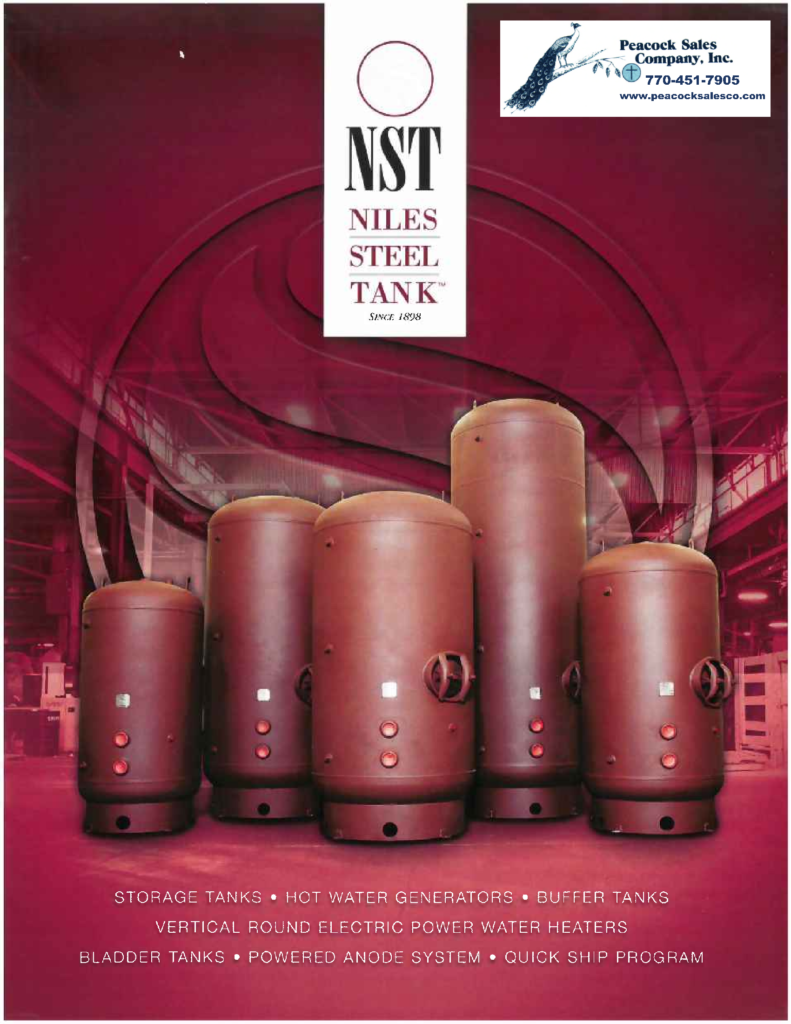 Niles Steel Tank Product Brochure